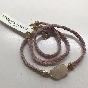 NWT Lucky Brand adjustable necklace/bracelet-